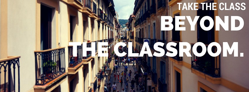 take the class beyond the classroom